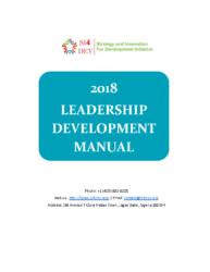 SI4DEV Leadership Training Manual